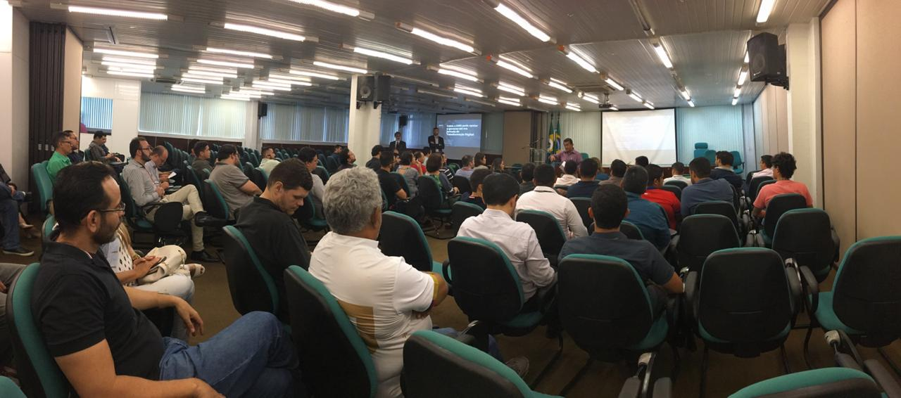 Palestra sobre Segurança em Nuvem reúne gestores de TIC do Estado