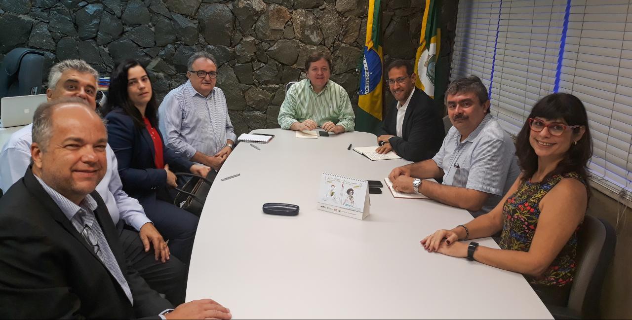Reunião entre ETICE e Angola Cables estreita parceria entre as empresas