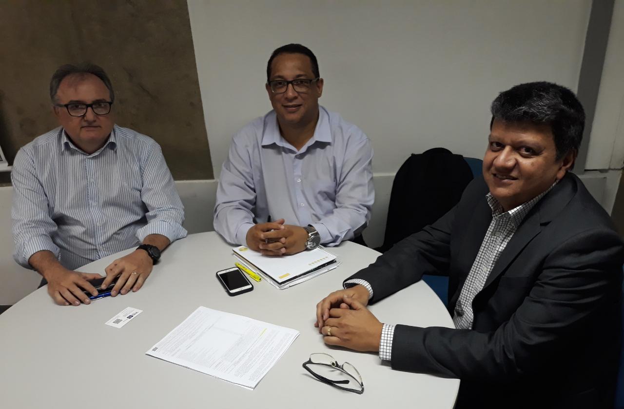 Empresa Mato-grossense de TI visita a ETICE para conhecer projetos de inovação
