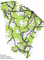 Cinturão Digital do Ceará viabiliza qualidade na infraestrutura de comunicação de dados