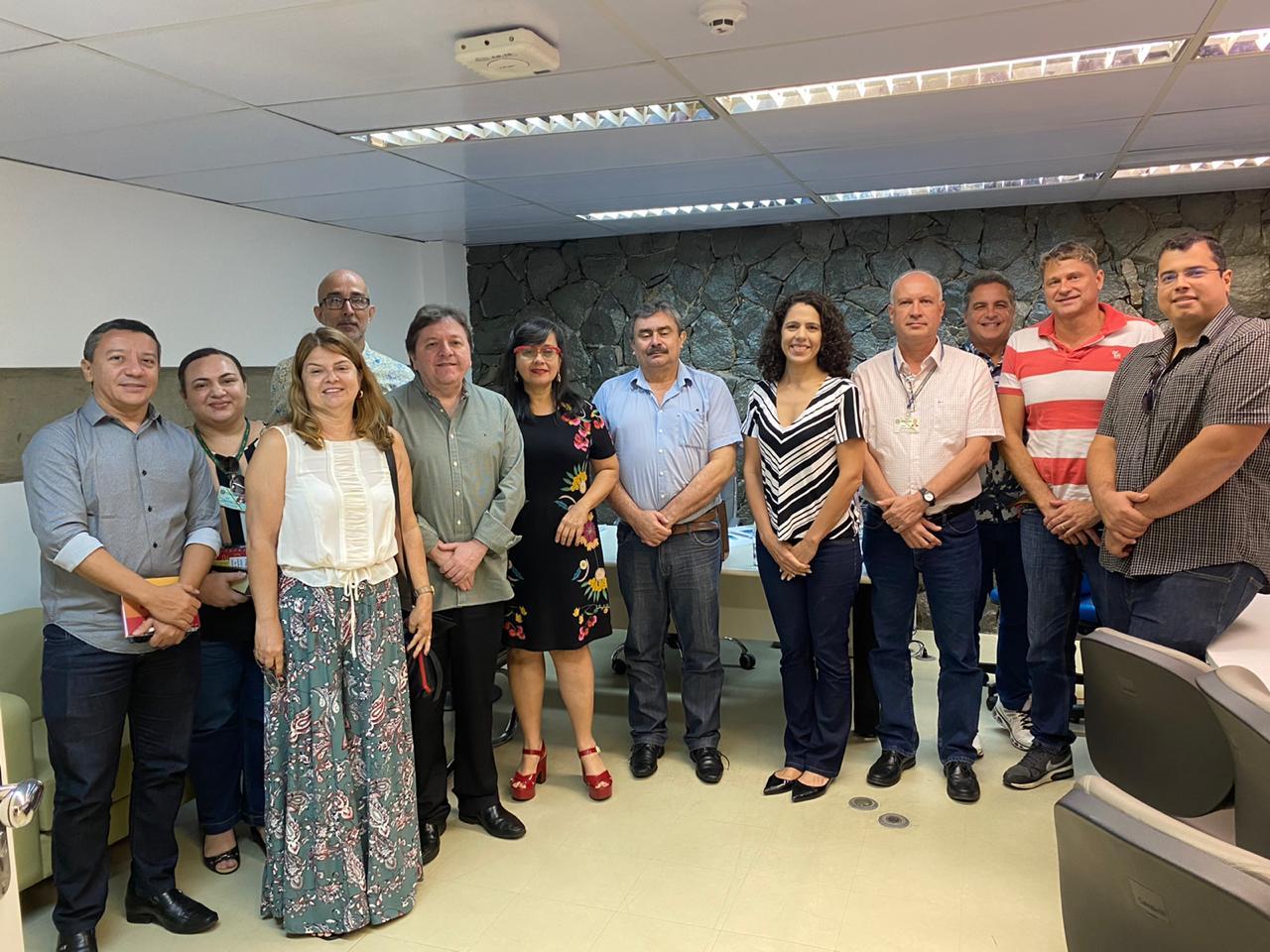 Etice se reuniu com TRE para provimento de soluções tecnológicas