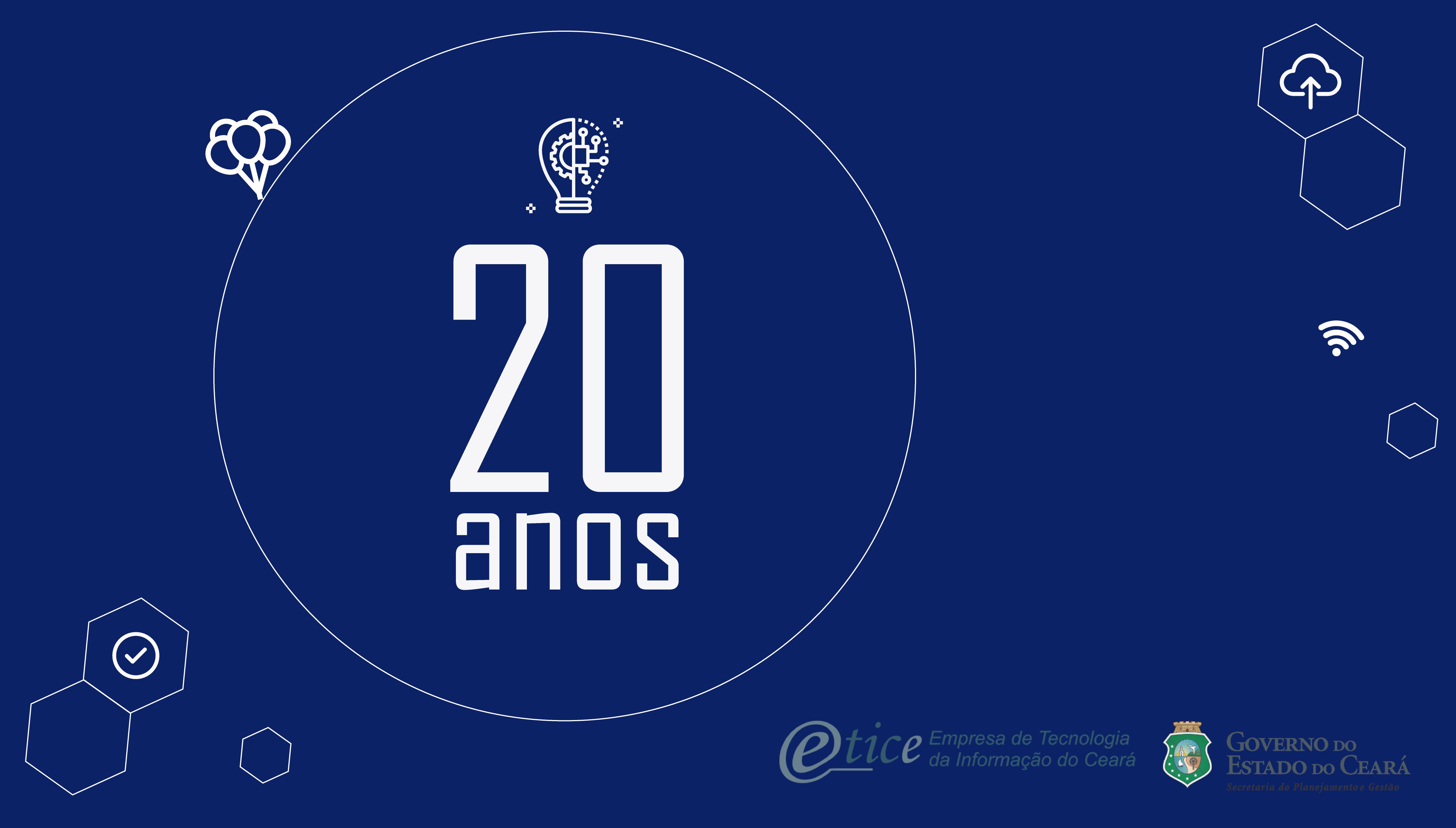 O ano é 2020 e… a Etice completa 20 anos!