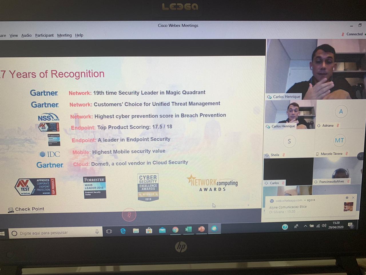 Etice realiza transmissão ao vivo sobre segurança da informação