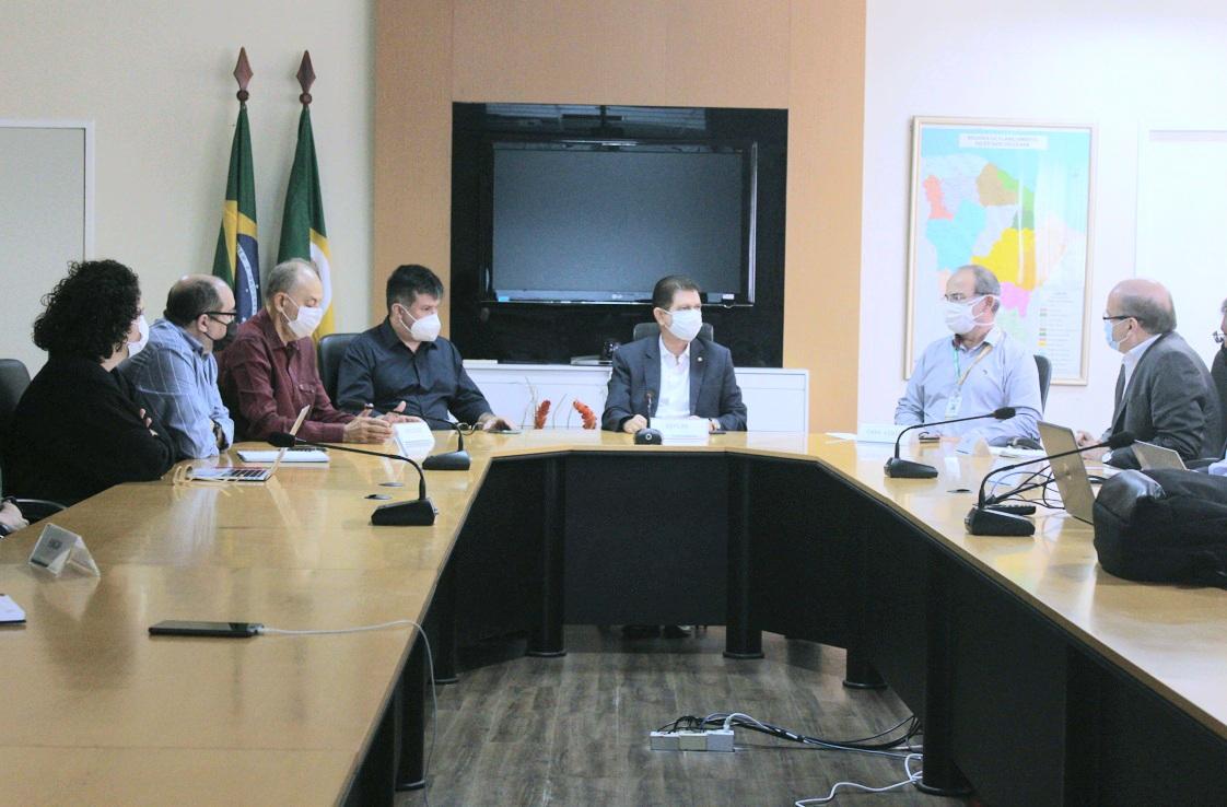 Gabinete de Governança debate ações do Centro de Competência para Transformação Digital